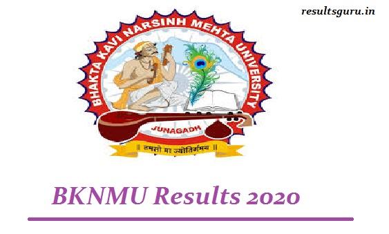 BKNMU Result 2020