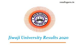 Jiwaji University Result 2020
