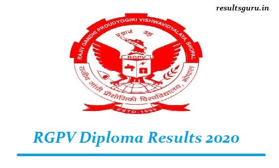 RGPV Diploma Results 2020