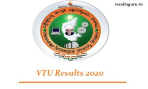 VTU Results 2020